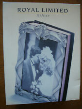 "Wedding Album Royal Limited Silver  Holds 80 4""x6"""