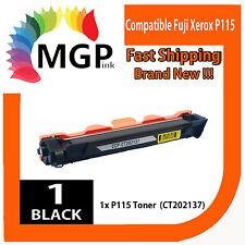 1x High Yield BLACK Toner Cartridge for Fuji Xerox P115w M115 M115w 1,000 pages