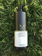 Paul Mitchell Mitch Double Hitter 2 In 1 Shampoo/Conditioner 33.8 oz