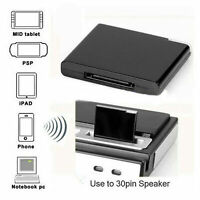 30Pin Wireless bluetooth A2DP Music Receiver Audio Adapter Dock For iPhone iPod