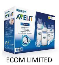 Avent Newborn Bottle Kit PBA Free SCD371 Starter Set Classic + Philips