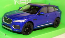 Nex Models 1/24-27 Scale - Jaguar F-Pace S Blue Diecast model car