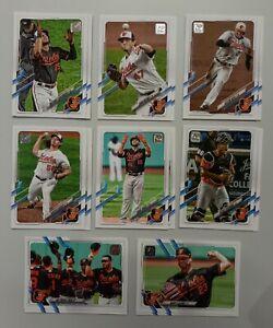 Carte de Baseball Topps - Baltimore Orioles Players (16) - Chris Davis