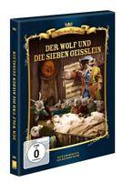 DER WOLF UND DIE SIEBEN GEIßLEIN   DVD NEU  HARRIET GESSNER/GUSTAV MALER/+