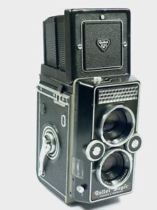 Rolleimagic mit Xenar 3,5/75 mm