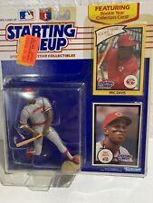 1990 KENNER STARTING LINEUP MLB Baseball ERIC DAVIS Figure Rookie Card 1984