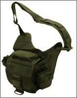 EXTREME TACTICAL MESSENGER BAG - OD GREEN 1000 DENIER FABRIC MATERIAL