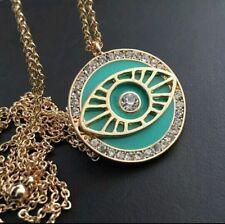 Awareness Alloy Round Stone Costume Necklaces & Pendants