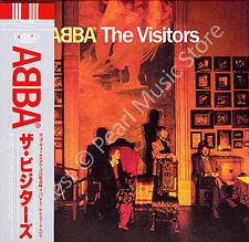 ABBA THE VISITORS CD MINI LP OBI + bonus tracks Bjorn Benny Agnetha Anni-Frid