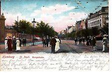 St. Pauli Reeperbahn AK 1904 Hamburg 1504019