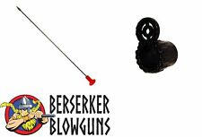 "100 Pack 5"" Pro Length Hunting Spearhead Darts - .40C Blowguns & Tactical Peep"