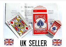 Shrinking card case Tribute to Varone. close up magic trick mini box card vanish