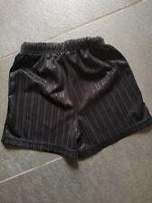 black sports shorts matalan 4-5yrs