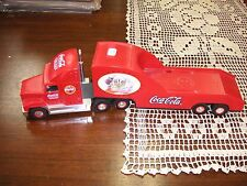 "Coca-Cola 2000 Santa Pack Truck - Sold in As/Is Condition ""Missing Mirror"""