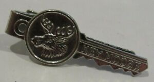 Vintage Key Moose Club Key Moose Tie Clip Clasp Bar