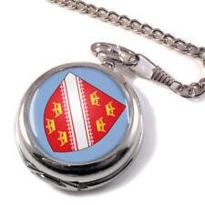 Quarz - (Batterie) Taschenuhren mit Sprungdeckel Silber