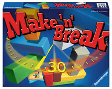 *NEW IN BOX* Ravensburger Make 'N' Break Building Game - Become a Master Builder