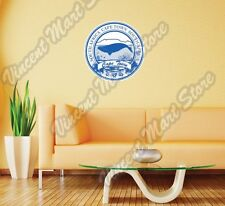 """Cape Town South Africa Country Vintage Wall Sticker Room Interior Decor 22""""X22"""""""