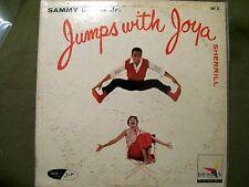 SAMMY DAVIS JR. JUMPS WITH JOYA SHERRILL RECORD DESIGN DLP 22