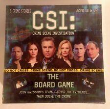 New/Sealed 2004 Csi Crime Scene Investigation Board Game 8 Crime Stories Age 13+