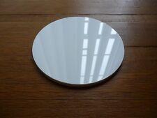 4.5 in (ca. 11.43 cm) bianco rotondo piatto per Torta Acrilico Decorazione Torte