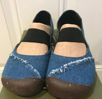 Keen Womens Good Jeans Project M J Denim Flats Shoes sz 6.5 Limited Edition