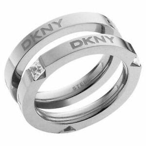 DKNY Damenring Edelstahl  Größe 19  NJ11397040  NEU!!  540  #3