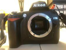 Nikon D D70 6.1MP Digital SLR Camera - Black (Body Only, No Lens Cap)