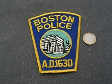 PATCH POLICE ECUSSON COLLECTION  USA   police  boston