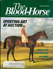 1991 The Blood-Horse Magazine #26: Sporting Art Auction/Fowda Wins Oaks