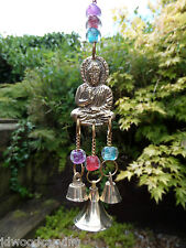 FairTrade Hand Made Recycled Metal Thai Buddha Bells Windchime Wind Chime Mobile