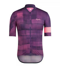 Rapha Classic Flyweight Cycling Jersey High Vis Pink Large