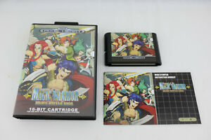 Jeu MAGIC WARRIOR Brave Battle Saga pour Sega MEGA DRIVE (MD) NEUF