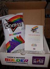 Doritos Rainbows Cool Ranch 6oz Bag Sold Out Rare Limited Edition LGBT Chips
