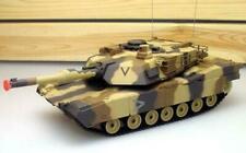 "16"" 1:24 RC Airsoft Battle Tan Military NEW w/ Lights BB Turret R/C M1A2 Abrams"