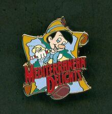 Disney Pins Pinocchio Mediterranean Delights Adventures By Disney