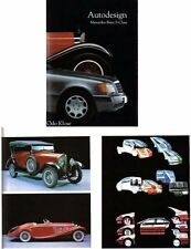 MERCEDES Benz S Class autodesign Auto Styling 1950-90's book by odo KLOSE