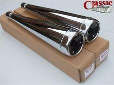 HONDA CX500 EXHAUST SILENCER SILENCERS 78-84 PAIR OF BOTH LEFT AND RIGHT HAND