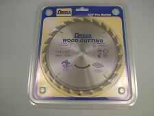 "Circular saw blade wood rip cut carbide tipped 184mm (7.1/4"") 16 bore 24 teeth"