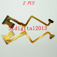 2PCS/ NEW LCD Flex Cable For JVC GZ- MS120 MS123 MS130 HM200 Video Camera