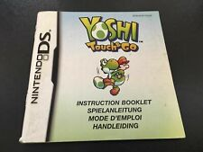 Yoshi Touch & Go -  Nintendo DS Game Manual