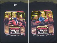 Vintage Mens XL 1997 90s Indy 500 Racing True Value Texas Motor Speedway T-Shirt