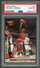 1992 Ultra #27 Michael Jordan Graded PSA 10 GEM MINT ~ Chicago Bulls HOF GOAT