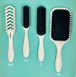 Denman Pro,  Student Starter Hair Brush Set Wit Convenient Storage Case 4 Pcs.