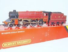 "Hornby OO HO DC British London Midland LMS ""CLASS 5"" STEAM LOCOMOTIVE Maroon MIB"