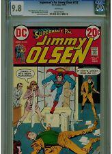 SUPERMAN'S PAL JIMMY OLSEN #153 CGC 9.8 WHITE PAGES 1972 DC SAL AMENDOLA ART
