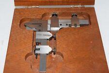 Starrett 456A Gear Tooth Caliper; 20-2'' Pitch Range