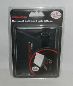 Precision Designs Camera Universal Soft Box Flash Diffuser Shoe Mount PD-SBFD