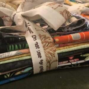 Mixed  Fabric Scrap Grab Bag of Cotton Fabric Scraps 1+ lb.