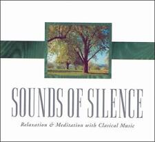Various : Sounds of Silence: Relaxation & Meditati CD